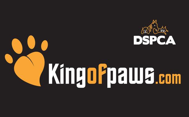 DSPCA King of Paws logo