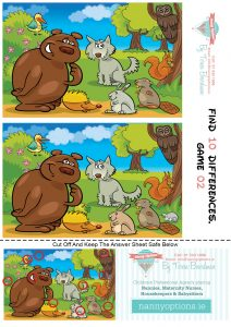 Games for Kids - Find 10 Differences - Game 2