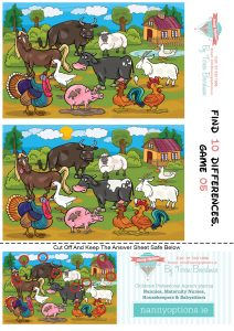 Games for Kids - Find 10 Differences - Game 5