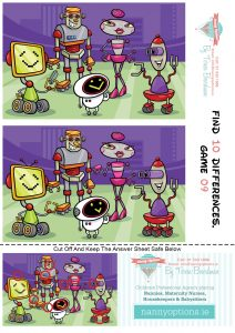 Games for Kids – Find 10 Differences – Game 9