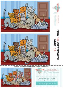 Games for Kids – Find 10 Differences – Game 11