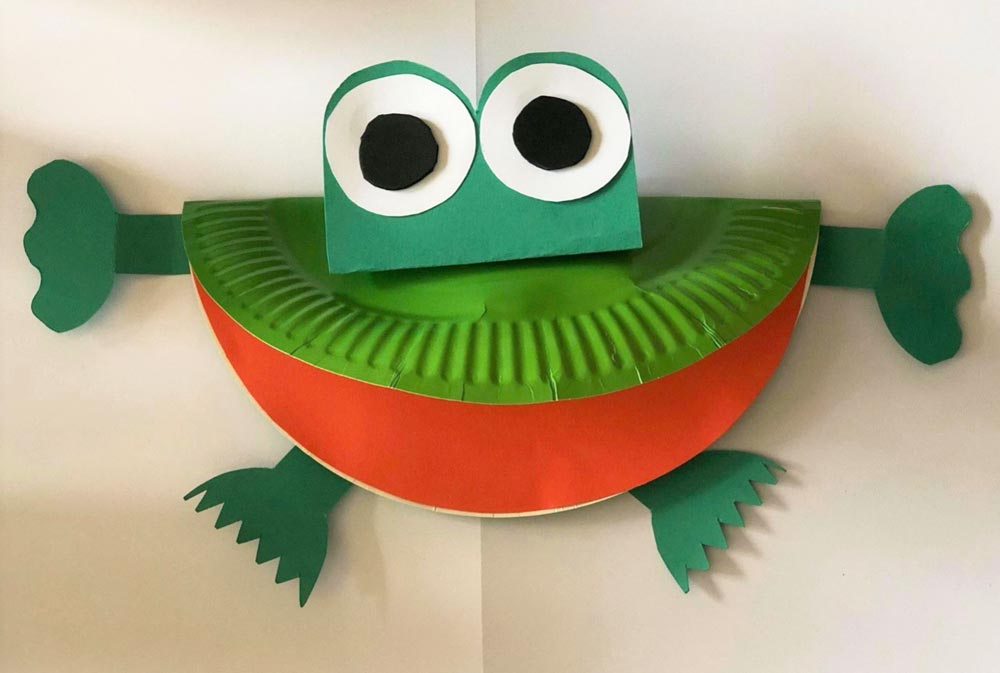 Father's Day Frog Card