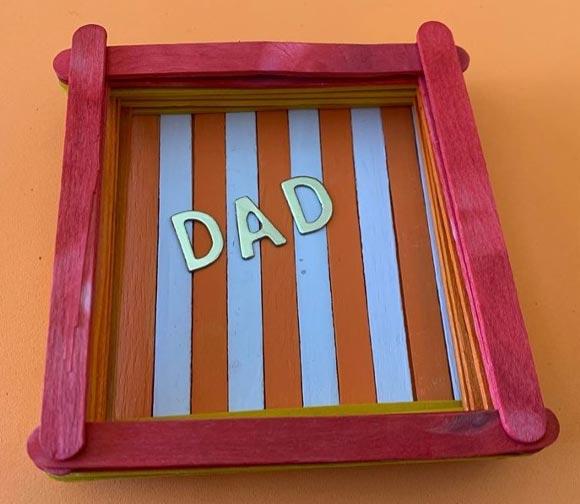 Father's Day Keys Box