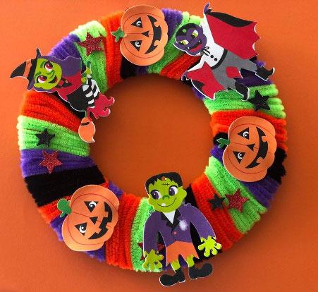 Halloween Circle Craft