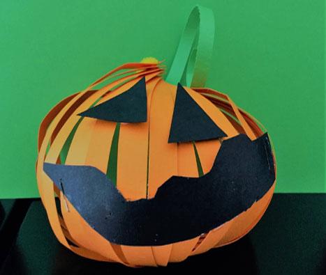 Halloween Paper Pumpkin