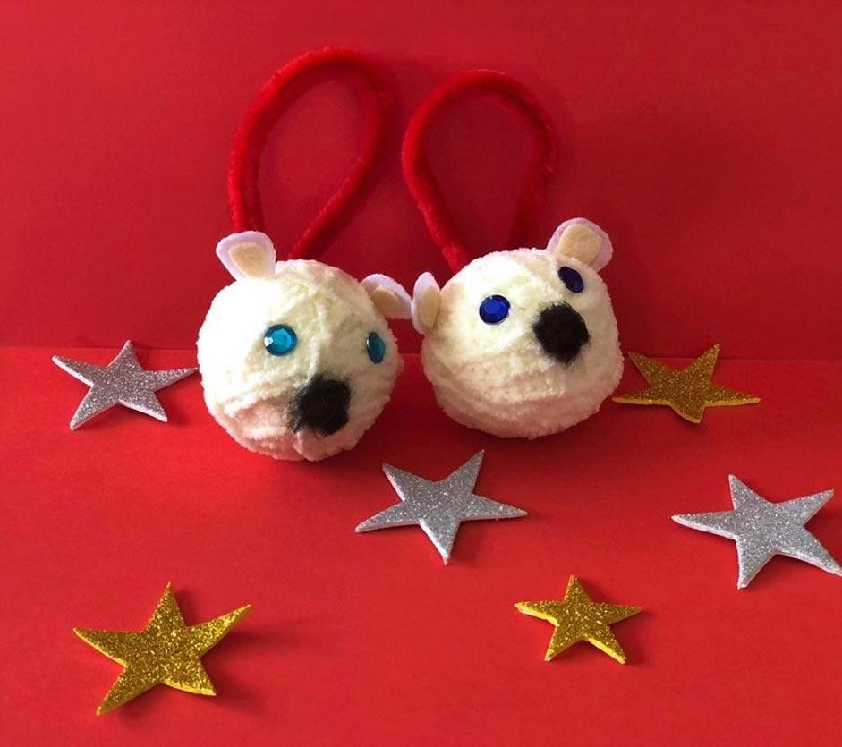 Polar Bear Ornaments