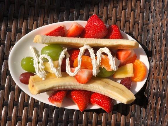 Fun Banana Boat Dessert