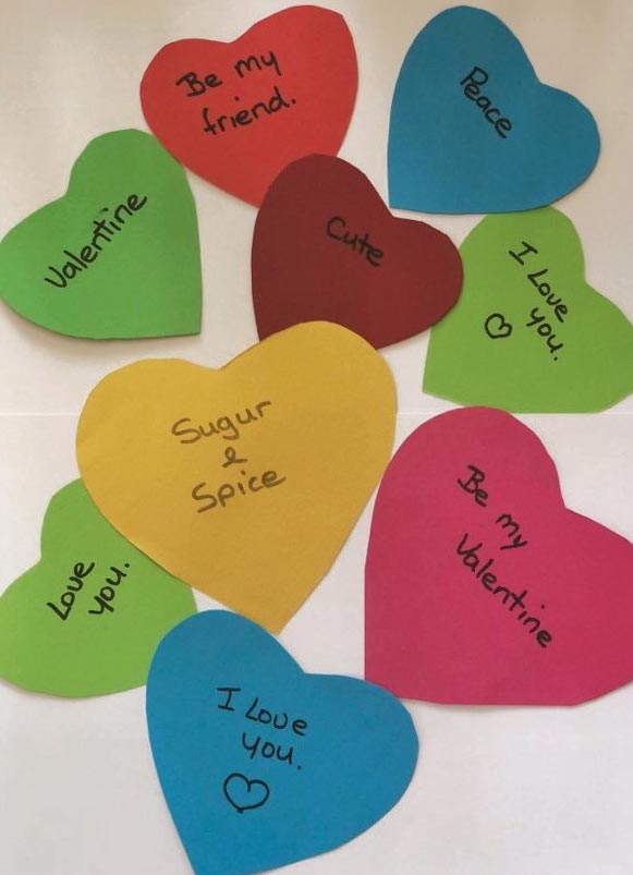 Valentine's Day Games - Heart Messages