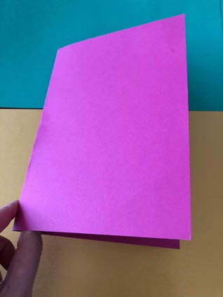 Butterfly Handprint Card