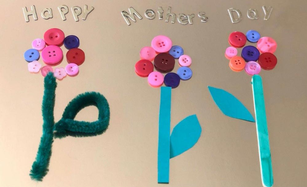 Flower Button Art