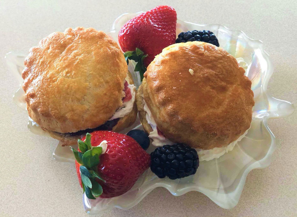 Fruit Scones for Mother's Day